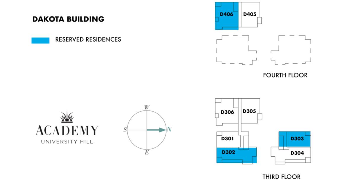 Dakota Building – 3 and 4 Floors