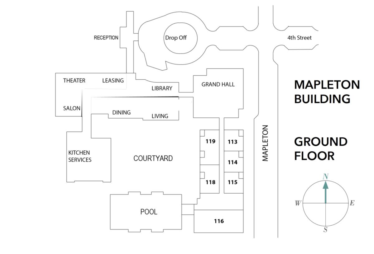Mapleton Building – Ground Floor
