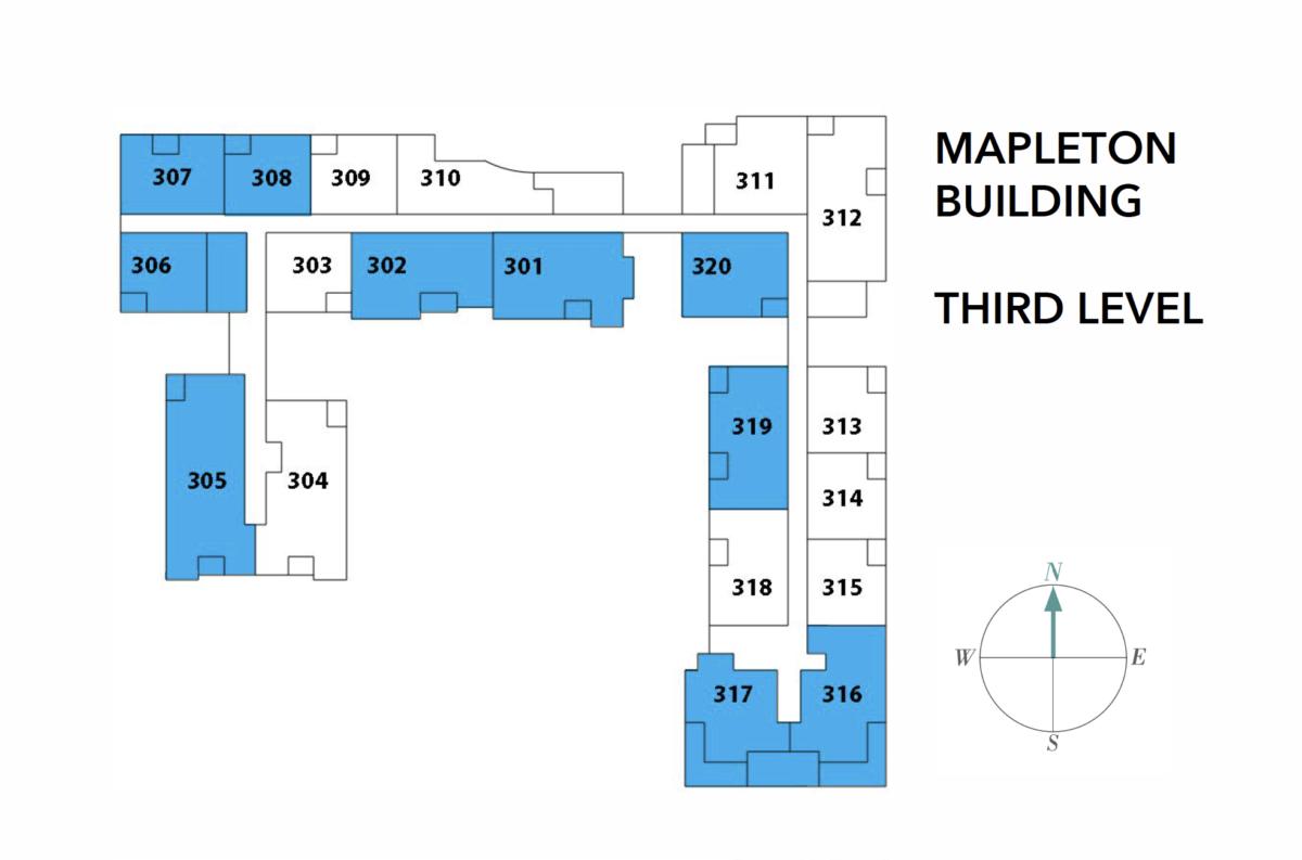 Mapleton Building – Level 3